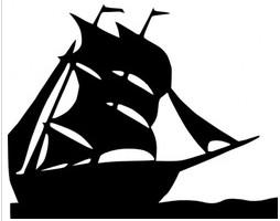 254x200 Boat Silhouette
