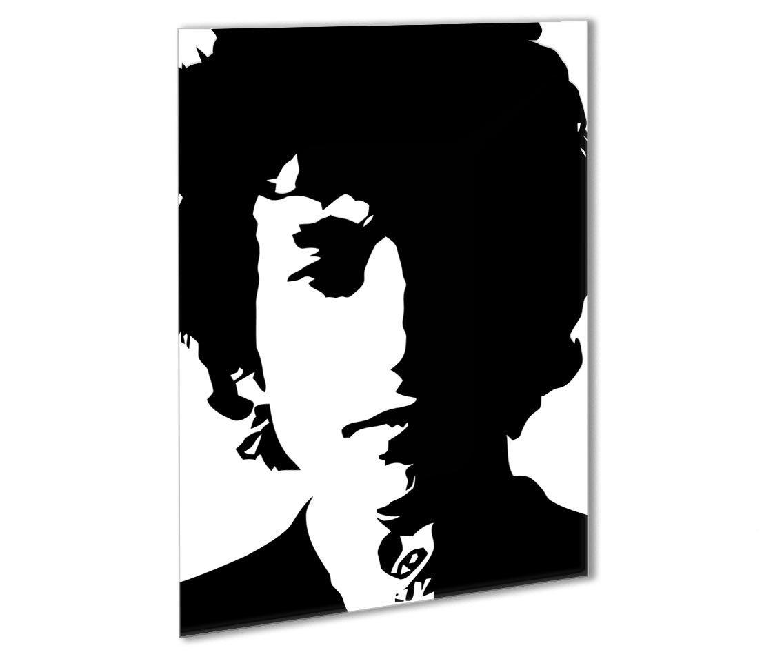 1105x959 Bob Dylan Outdoor Metal Print Canvas Art Rocks