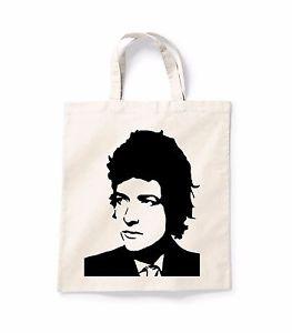 263x300 Bob Dylan Silhouette Canvas Tote Shopping Bag Cotton Printed