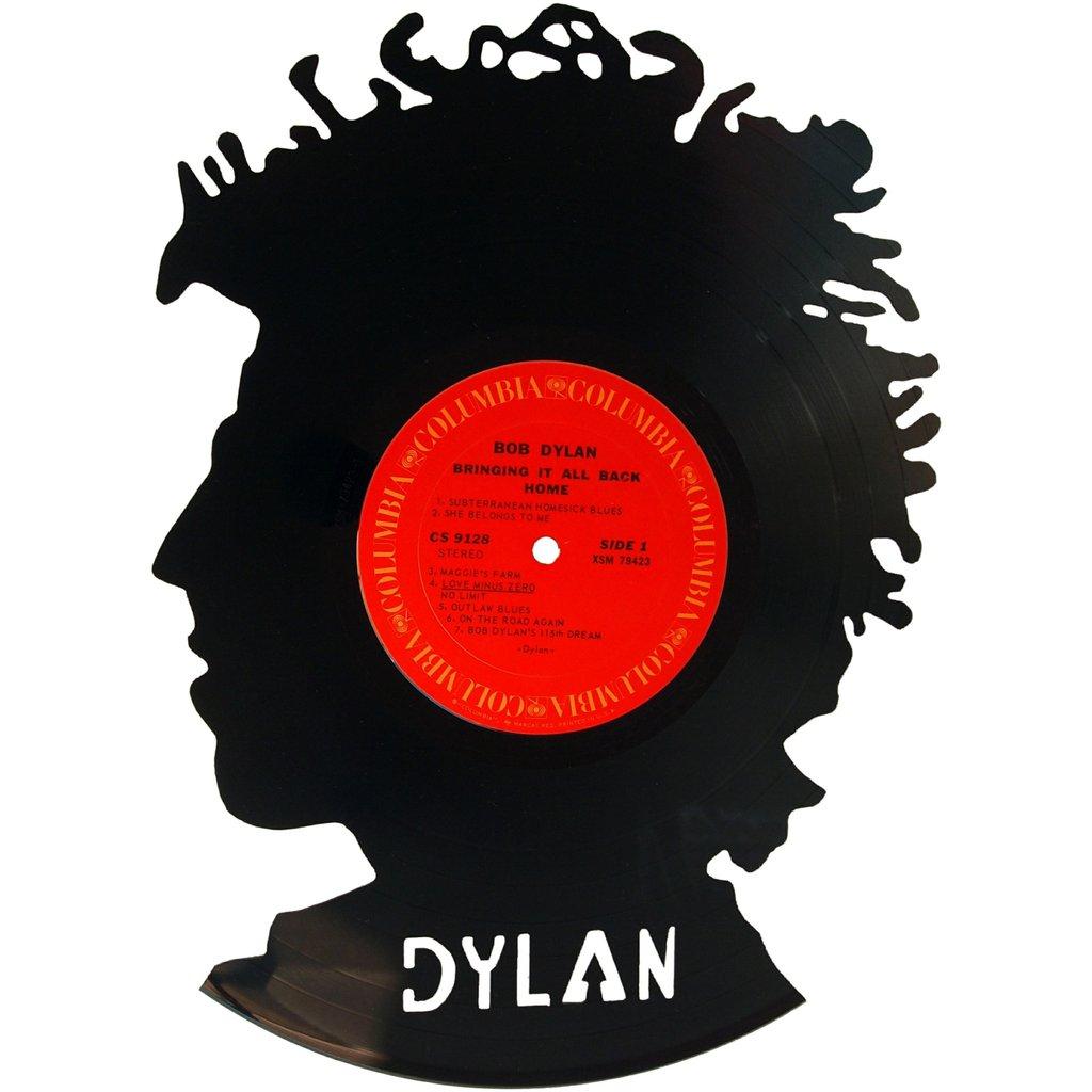 1024x1024 Bob Dylan Silhouette Vinyl Record Art Wj Records