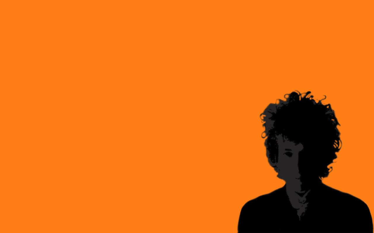1280x800 Bob Dylan Silhouette, By Me.