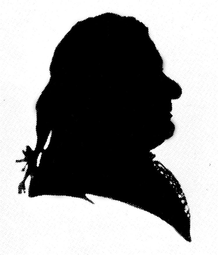 750x877 Bach Silhouette Bulletin Board