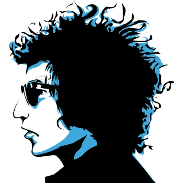 600x600 Bob Dylan Men's Tank Top