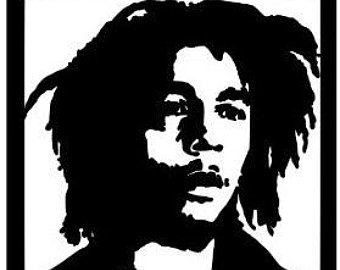 340x270 Bob Marley Decal Etsy