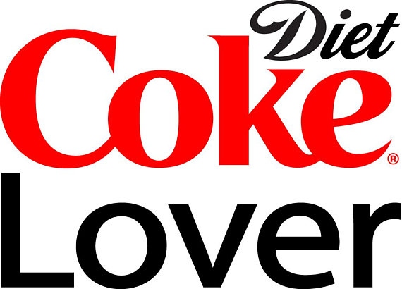 570x410 Diet Coke Lover Svg Cut File For Silhouette