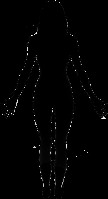 431x789 Mountain Pose Woman Listen To Your Body