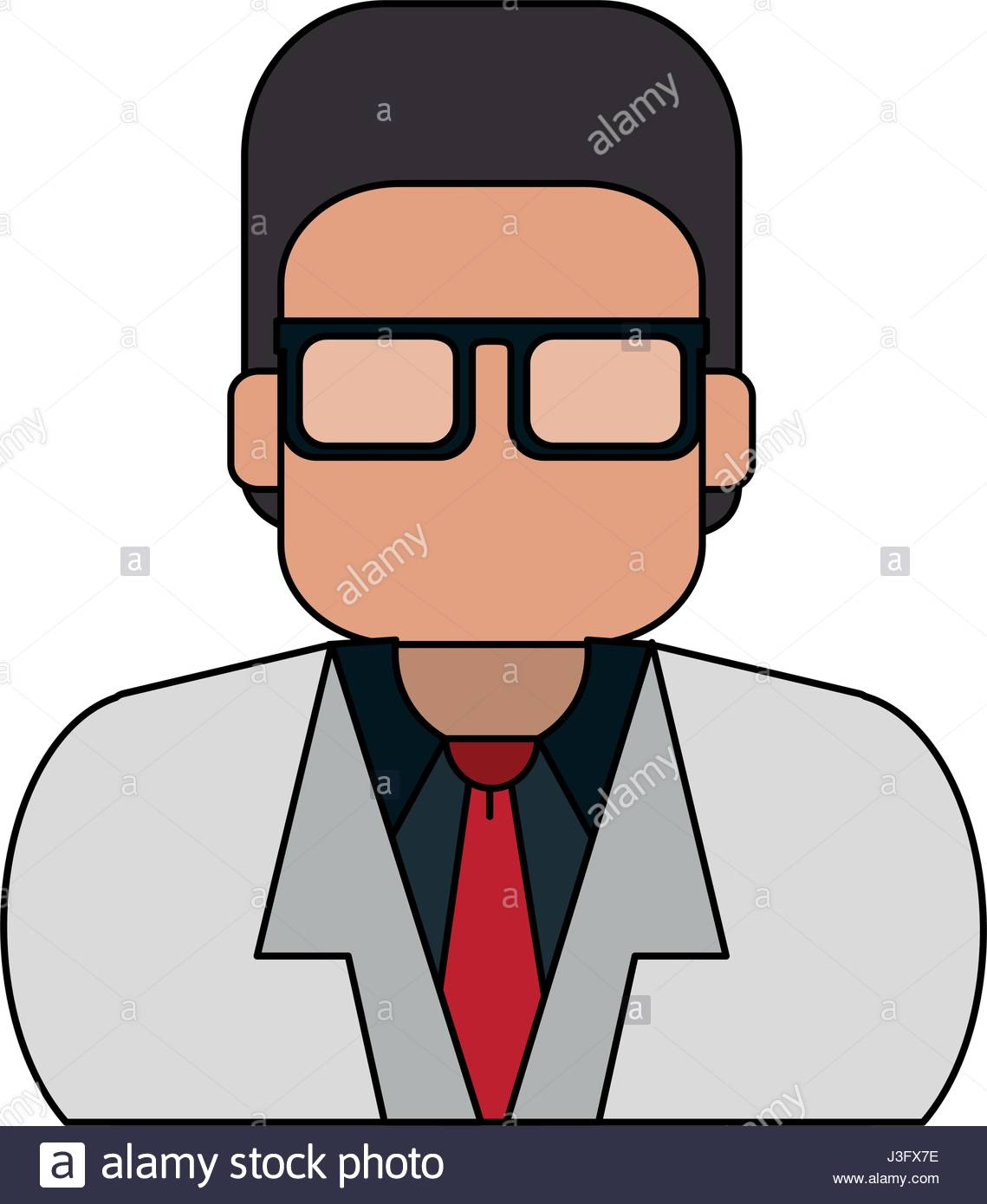 1139x1390 Colorful Silhouette Half Body Executive Faceless Man With Glasses