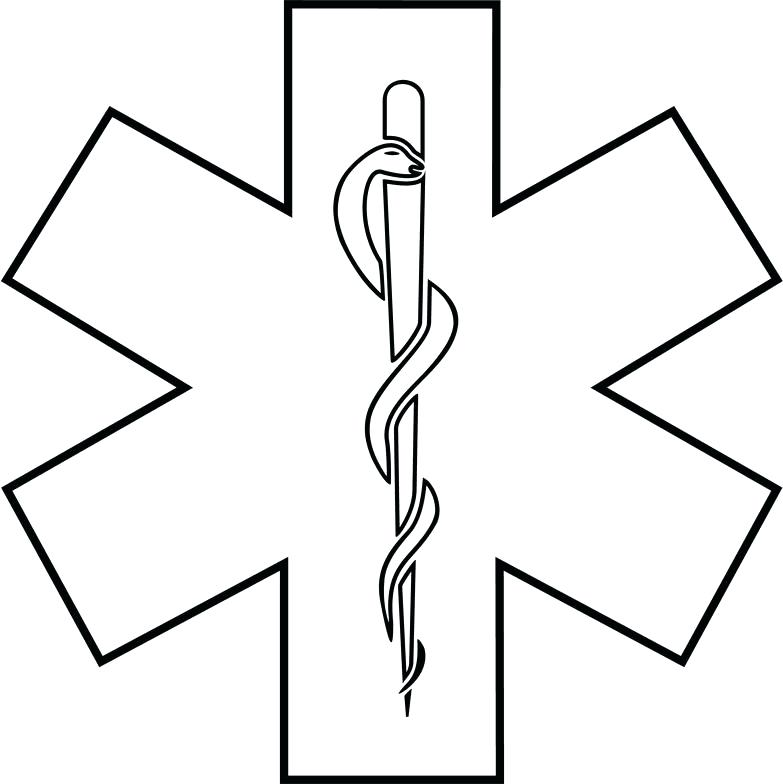 783x784 Paramedic Coloring Pages Body Outline Coloring Page Coloring Pages