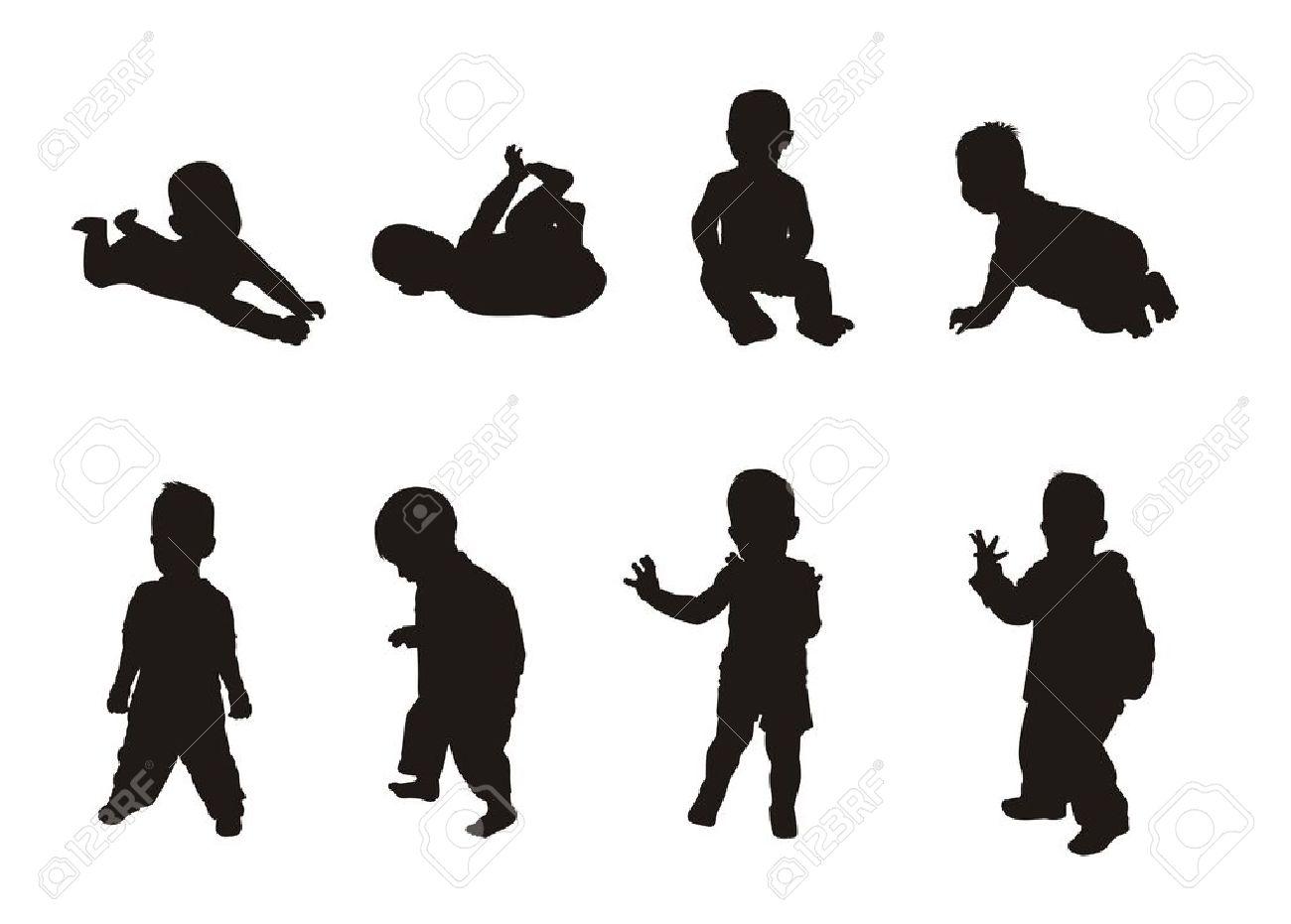 1300x931 Silhouette Body Child