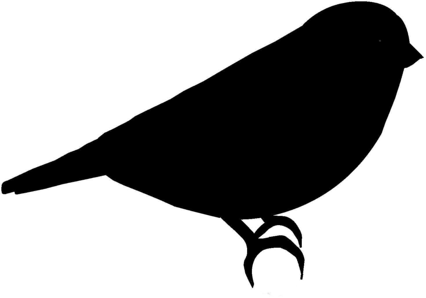 1470x1029 Bird Silhouette Clip Art At Clker Com Vector Online Clipart