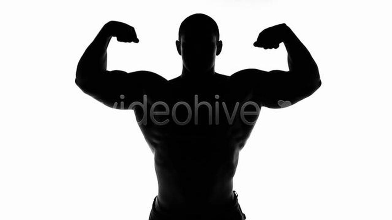 1280x720 Bodybuilder Silhouette On Vimeo
