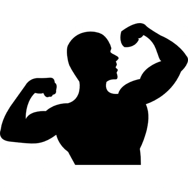 626x626 Bodybuilding Silhouette Vectors, Photos And Psd Files Free Download