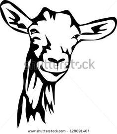 236x272 Silhouette Of Goat Stock Photos