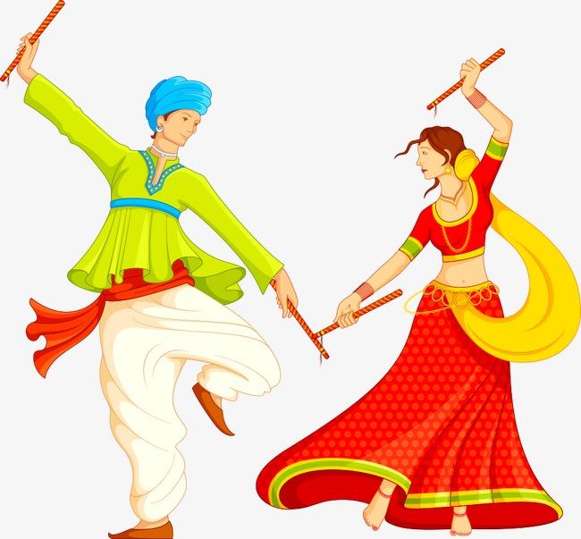 650x603 Indian Dance Vector, Character, Cartoon Characters, Vector