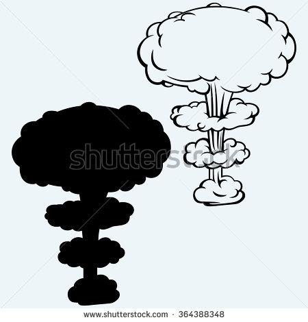 450x470 H Bomb Clipart Silhouette