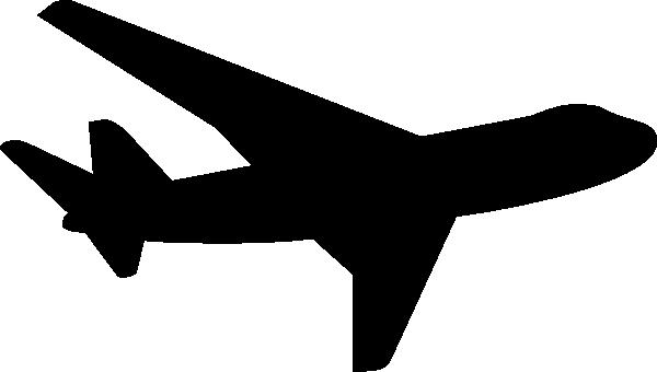 600x340 Jet Plane Silhouette Clip Art