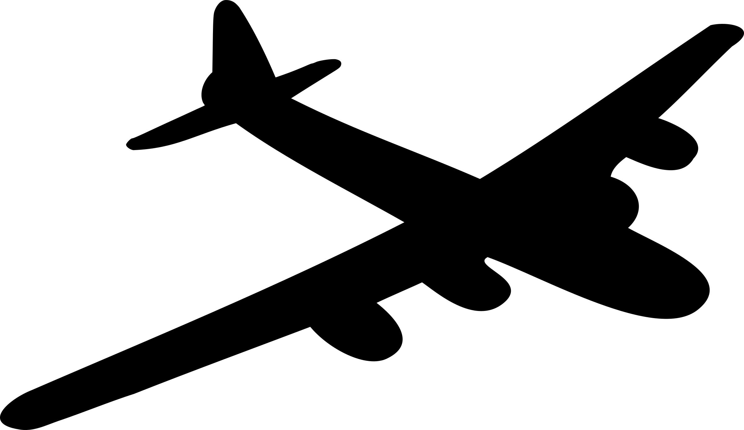 2400x1387 Lancaster Bomber Black Silhouette Icons Png