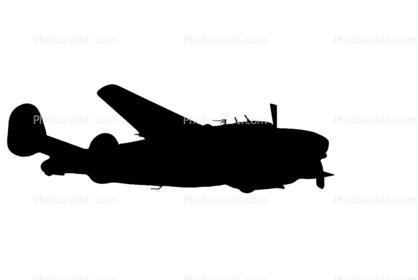 418x280 A 29 Hudson Bomber Silhouette, Lockheed Pv 2d Harpoon, Pv 2