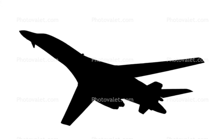 418x279 Rockwell B 1b Bomber Silhouette Images, Photography, Stock