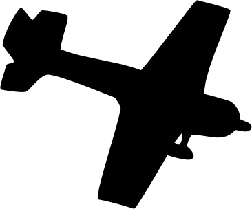 366x304 Silhouette Plane Clip Art Free Vector In Open Office Drawing Svg