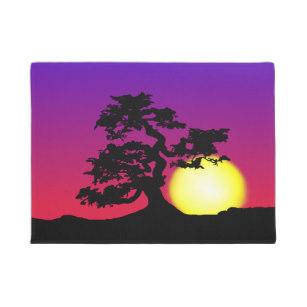 307x307 Bonsai Tree Silhouette Home Decor Amp Pets Products Zazzle