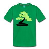 190x190 Shop Tree Bonsai Silhouette Leaves T Shirts Online Spreadshirt