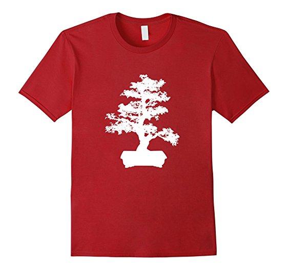 562x526 Bonsai Tree Silhouette T Shirt