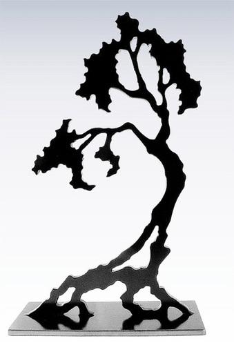 339x513 Bonsai Tabletop Metal Sculpture