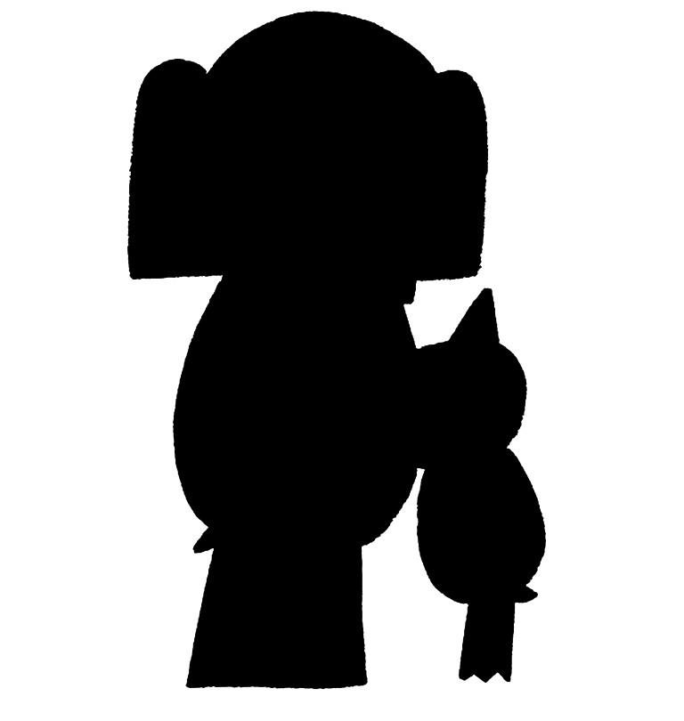 768x810 Book Character Silhouette Scavenger Hunt