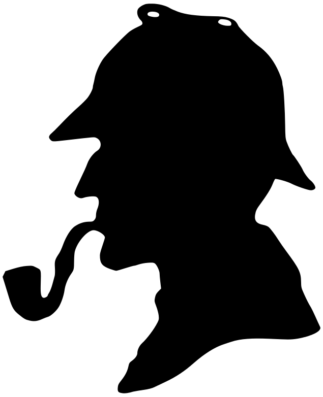 635x782 Holmes Silhouette Clipart Book Characters Sherlock