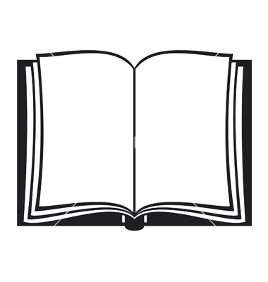 380x400 15 Angled Open Book Icon Vector Images