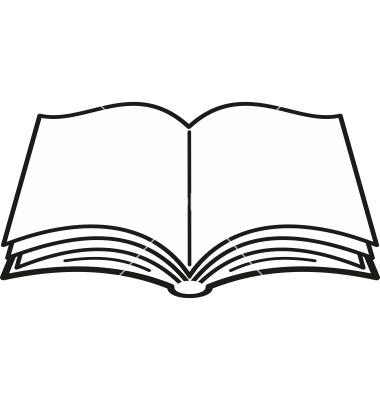 380x400 Best Photos Of Open Book Silhouette Clip Art