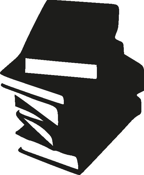 492x599 Stack Of Books Clip Art