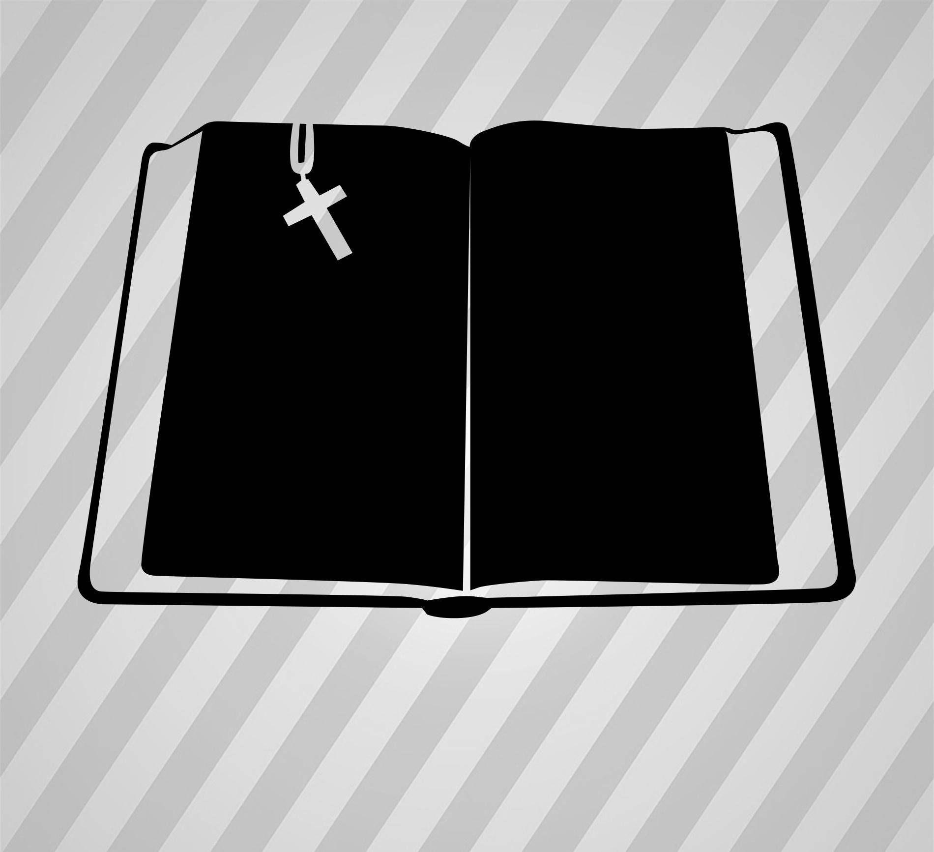 1900x1733 Book Bible Silhouette Bible Book