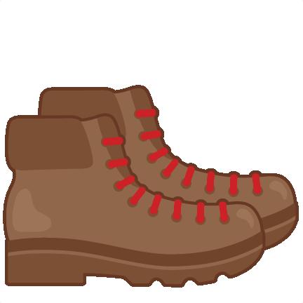 432x432 Hiking Boots Svg Scrapbook Cut File Cute Clipart Files