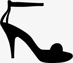 240x205 Ms. Heels Silhouette, Graphic Design, Shoe, Boots Png And Vector