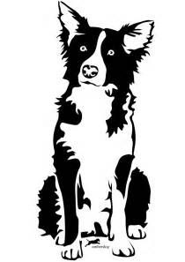 border collie silhouette at getdrawings com free for personal use rh getdrawings com border collie clipart free