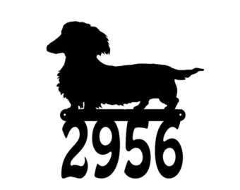 340x270 Long Haired Daschund Clipart