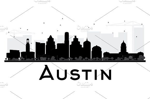 580x386 Madrid City Skyline Silhouette By @graphicsauthor Graphics