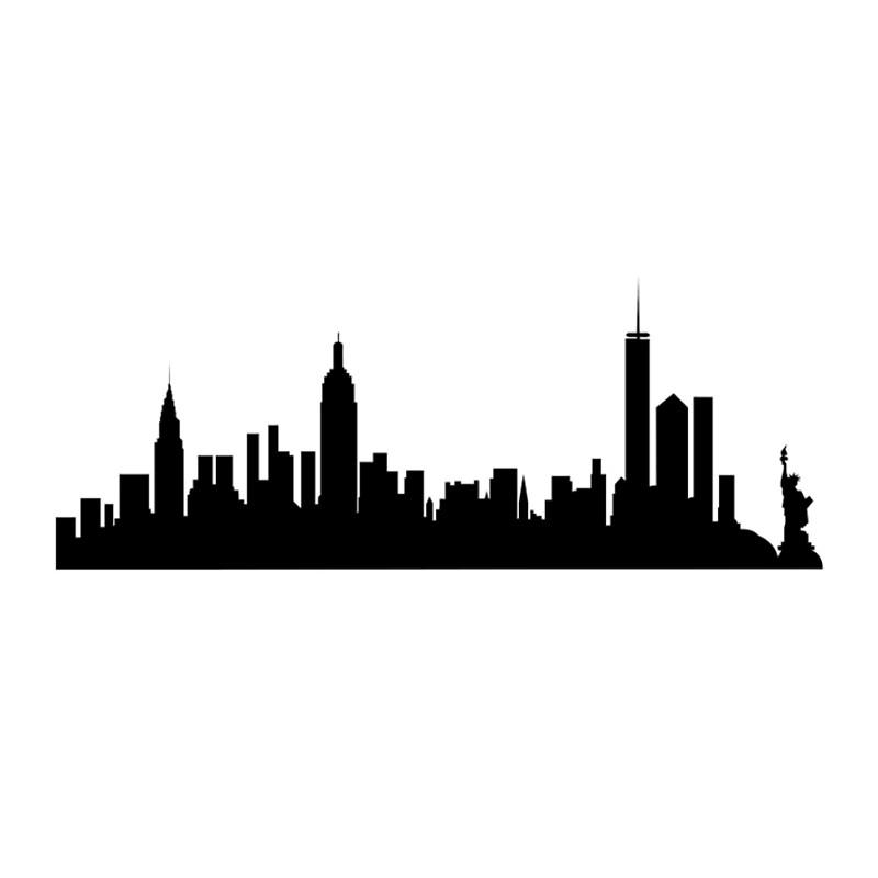 800x800 New York City Skyline Spiral Notebooks By Livrose8 Redbubble