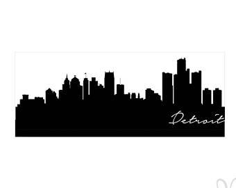 340x270 Silhouette Skyline Etsy