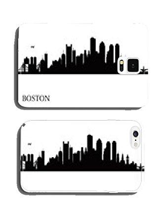 334x445 Boston City Skyline Silhouette Background Phone Cover Case Pare