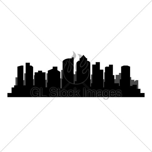 500x500 Boston Skyline Gl Stock Images