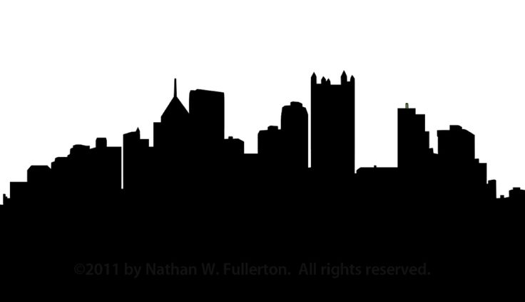 736x423 Dallas Skyline Clipart