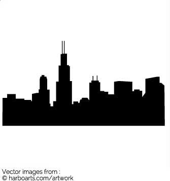 335x355 Download Chicago Skyline