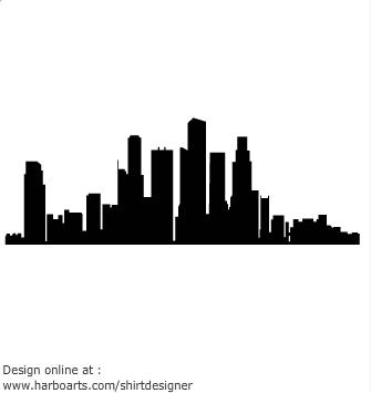 335x355 Boston Skyline Clipart