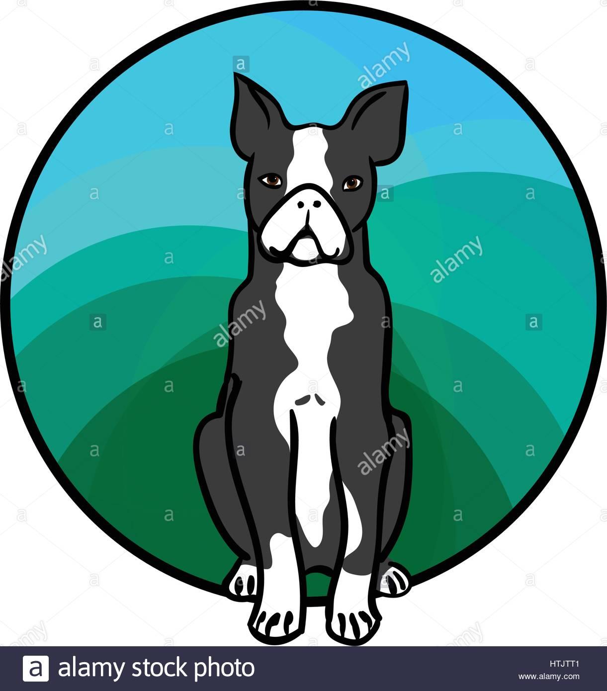 1221x1390 Boston Terrier Dog Vector Vectors Stock Photos Amp Boston Terrier
