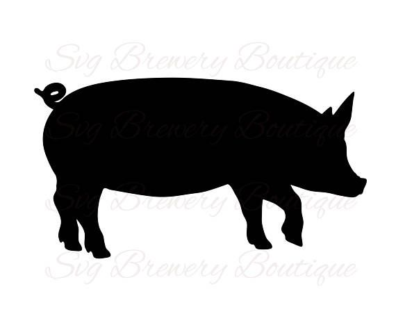 570x452 Pig Farm Animal Pork Piglet Bacon Svg Png Dxf For Cricut