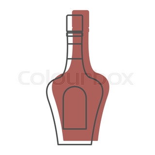 320x320 Bottle Alcohol Tequila In Line With Color Silhouette Style Icons