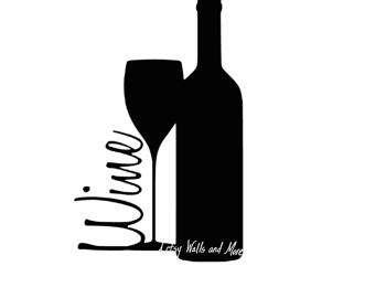 340x270 Wine Bottle Silhouette Clip Art Clipart Collection